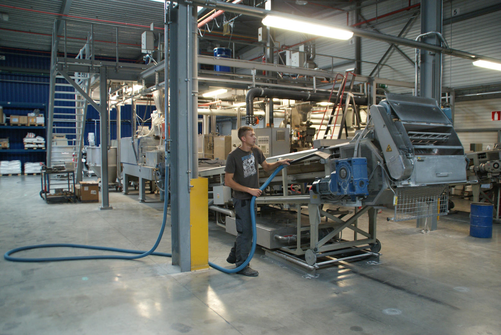 Industrial Central Vacuum Systems built by Ergox Professionals