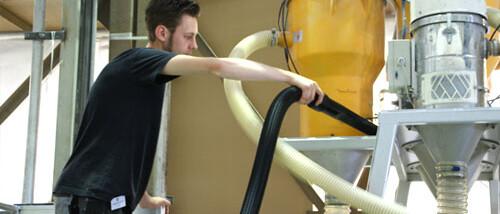 Custom central vacuum Systems for Car Wash & Industry // Ergox